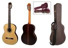 Salvador Cortez CS-60 Konzertgitarre mit Koffer, massive Fichte / Palisander