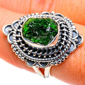 Chrome Diopside 925 Sterling Silver Ring Size 7.5 Ana Co Jewelry R79383F