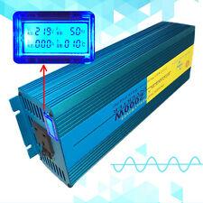 LCD Pure Sine Wave power inverter 2000W Peak 4000W DC 12V TO AC 220V UK Socket