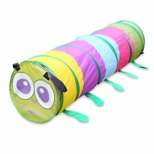 Kids Animal Pop Up Crawl Tunnel Tube Play Tent Toy Indoors/outdoors Garden Game