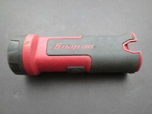 SNAP ON 7.2 Volt LED Flashlight -- Uses Microlithium Batteries CTB6172 & CTB7172