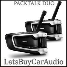 Cardo Scala Rider PackTalk Duo Moto Intercomunicador BLUETOOTH (un conjunto de dos)