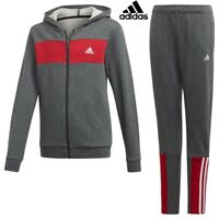 Adidas Boys Tracksuit Bottoms Brushed Kids Joggers Sweatpants Hoodie Fleece