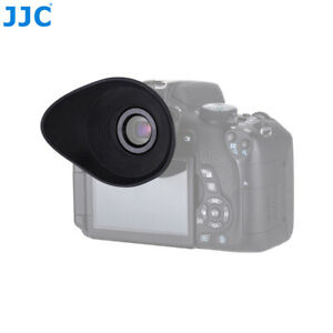 JJC Rubber Eyecup Eyepiece for Canon Rebel T7i T6i T8i T3i 70D EOS 5D Mark III