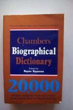 Chambers Biographical Dictionary,Magnus Magnusson