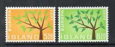 ICELAND MNH 1962 SG395-396 EUROPA