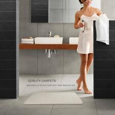 Memory Cotton Carpet Bathroom Anti-Skid Pad Water Absorbent Mat 40x60Cm Iu