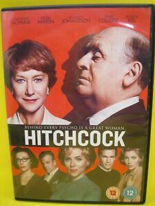 HITCHCOCK DVD (REG 2) 2012 ANTHONY HOPKINS, HELEN MIRREN