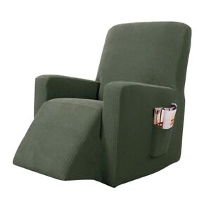 1/2/3 Recliner Chair Cover Sofa Seats Stretch Slipcover Stretch Home Couch Decor