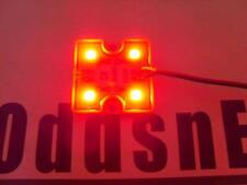 Red Night Flying PnP 5050 4 LED Light Square 12V Truck Car Quadcopter NEW!