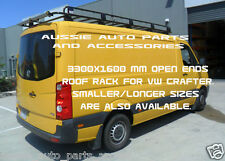 tradesmen style open ends Steel Roof Rack 2007 On 3300mm for VOLKSWAGEN CRAFTER