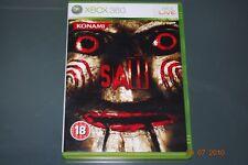 Saw The Game Xbox 360 UK PAL Uncut Version (No Manual) **FREE UK POSTAGE**