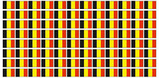 Kfz-Aufkleber Flagge Belgien Set RC