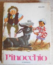 Carlo Collodi - Le avventure di Pinocchio ed. La Sorgente 1962 - CON DISEGNI