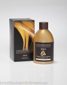 COCOCHOCO GOLD Brazilian Blow Dry Hair Keratin Straightening Treatment 250ml