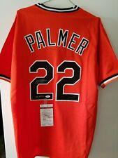 3d26cc160 JIM PALMER autographed signed Balt Orioles orange Baseball jersey HOF 90  JSA COA