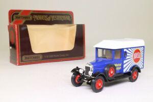 Models of Yesteryear Y-19/3; 1929 Morris Cowley Van; Brasso; Excellent Boxed