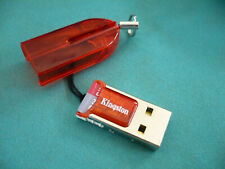 32GB Class 10 MicroSDHC / TF Flash Memory Card  32G + kingston usb reader RED