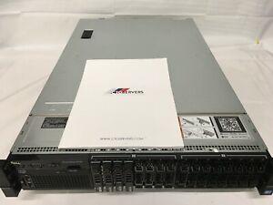 DELL PowerEdge R720 Server Dual 8-CORE E5-2650v2 **4TB SAS 16x SFF H710 VMWare 7