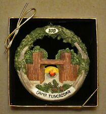 Camp Tuscazoar Centennial Christmas Ornament