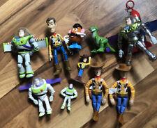 Disney Toy Story Figure Lot Buzz Woody +
