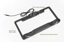 License Plate Frame Color Rear View Camera Object Proximity Sensor Back up Cam