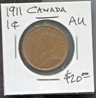 CANADA - FANTASTIC HISTORICAL GEORGE V ONE CENT, 1911