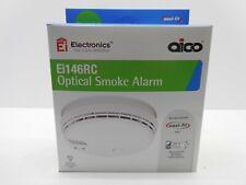 AICO Ei146RC MAINS OPTICAL SMOKE ALARM DETECTOR BATTERY BACK UP C/W BASE