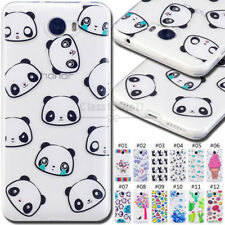 For Huawei Y5II Silicone Soft Cover Shockproof Case Rubber TPU Protective Back