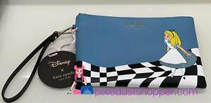 Disney X Kate Spade Alice in Wonderland Wristlet Pouch
