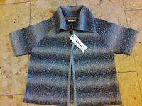 Public Strickjacke Bolero Jacke Cardigan Neu Gr.38 Boucle
