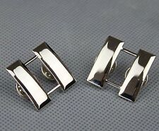 beautiful PAIR US ARMY OFFICER'S CAPTAIN RANK COLLAR INSIGNIA BADGES PIN