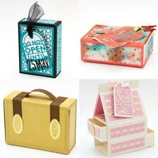 Gift Box Metal Cutting Dies Embossing Stencils for Diy Scrapbooking Paper Crafts