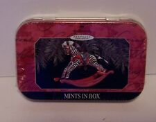 Hallmark Keepsake Mints in Box Rocking Zebra Horse Ornament Premiere Sealed