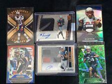 New England Patriots card lot rookie / auto