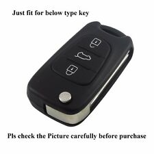 Folding Silicone Key Case Keypad Cover For Hyundai i20 i30 i35 iX20 ix35 ix30 WG