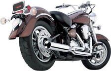 Cobra Exhaust Chrome PowerPro HP 2-into-1 Pipe w/ Tip Yamaha RoadStar 2471