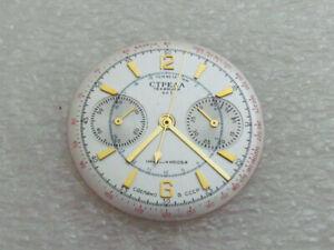 Dial & Watch-Hands for Russian Air Force Men's Watch Chronograph Strela 1-MChZ