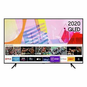 "Samsung QE50Q60T 2020 50"" inch QLED 4K Quantum HDR Smart TV with Tizen OS"
