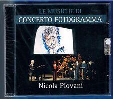 NICOLA PIOVANI LE MUSICHE DI CONCERTO FOTOGRAMMA CD F.C. SIGILLATO!!!