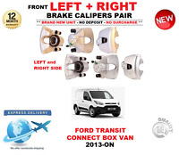 FOR FORD TRANSIT CONNECT BOX VAN FRONT LEFT + RIGHT BRAKE CALIPER 2013-> 1.0 1.6