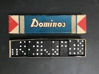 DOMINOS VINTAGE BOXED SET FROM 1950's, MADE IN JAPAN