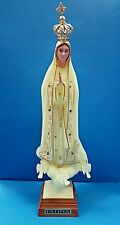8.7 inch Glow in the dark Virgin Mary Our Lady of Fatima Statue-Made in Portugal