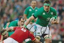 "CJ Stander signed 12x8"" Ireland rugby photo / COA"