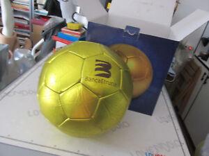 Pallone Da Calcio pubblicitario gadget BANCA ETRURIA pallone ORO