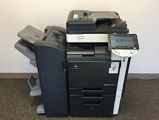 Konica Minolta Bizhub C360 Copier Printer Scanner folding stitch finisher 69K !