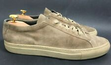 Common Projects Achilles Low-Top Grey Suede Sneakers Men's Sz 43 M