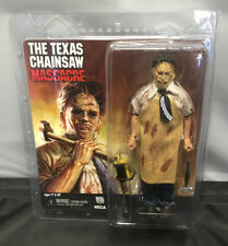 NECA REEL TOYS TEXAS CHAINSAW MASSACRE RETRO CLOTHED LEATHERFACE ACTION FIGURE