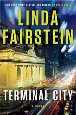 Terminal City by Linda Fairstein (2014, Hardcover)