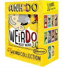 WeirDo Really Weird Collection 10 Books Gift Boxed Set by Anh Do  2020 Stock